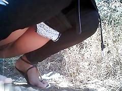 Girls Pissing voyeur video 14