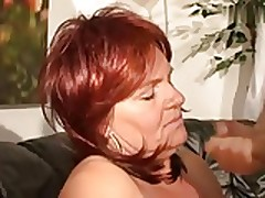 Super Horny Redhair Mature With Fat Tits