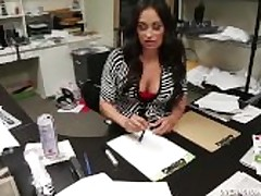 Mature Latina Hanjob Within reach The Office