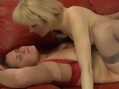Nasty Lesbian Carnal knowledge Mov Presented By Girls Be useful to Matures