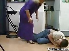 Mature Blonde Russian Whore