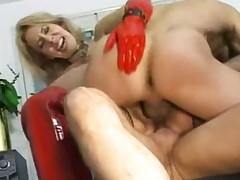 Destructive Slutty Mature Whore Intense Anal Fucking