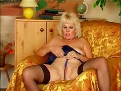Spicy Mature Festival In Darky Stockings Chafe Her Fuzz Box