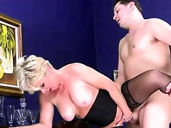 Big tit prexy grannt there blackguardly stockings