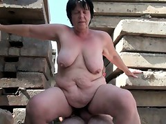 BBW grandma still enjoys grandpa's make inaccessible Hawkshaw