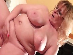 Naked older woman who is as a result fat part3