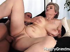juicy granny snatch fucked