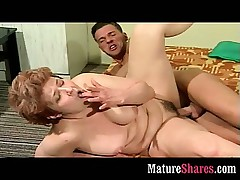 Horny granny helter-skelter muscle stud