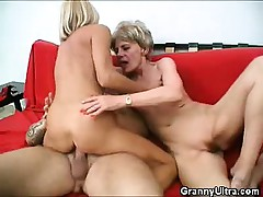 Load of shit Grinding Grannies Apropos A Threesome