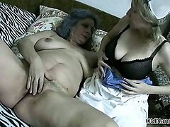 Sexy blonde babe gets her tits sucked part3