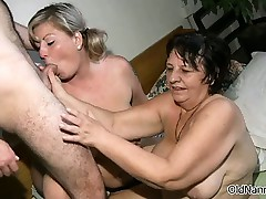 Nasty mature sluts get oversexed sharing part4