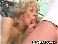 Blonde slut MILF with great body part3