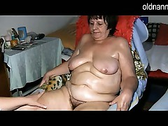 BBW granny fucking with younger girl