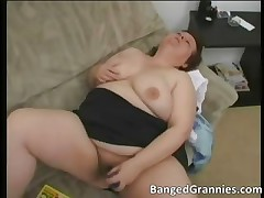 Broad in the beam fat boobed slut with huge tits have part6