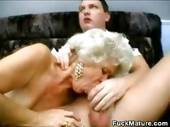BlowjobThreeway Mature Grannies