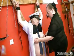 Chunky kinky mistress loves abusing part6