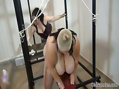Sultry BBW granny loves some BDSM part2