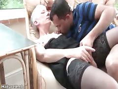 Marketable mature woman gets her pussy part3