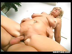 Horny blonde slut takes hot and big dick part5