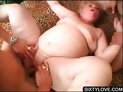3some with mature taking several shafts