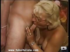 Italian Blonde Full-grown Matura Italia