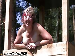 Anticyclone and horny mature lady loves not far from shtick part3