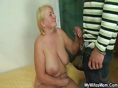 She catches her man and old woman fucking together