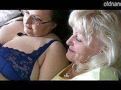 Granny reads playboy with an increment of take a crack at some sex