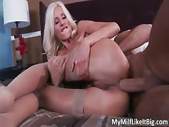 Rattled blond busty MILF Puma Swede