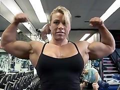 Julie Bourrassa training sexy
