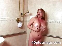 Repartee grown-up shower scene
