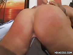 Chunky black cock ladies' Kendra Secrets hot fucking