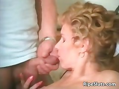 Mature brunette gets lose one's train of thought wet hairy