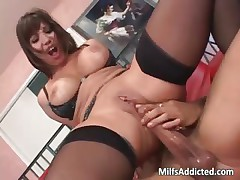 Ava Devine is one hot Asian busty MILF