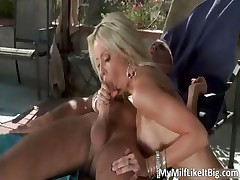 Awesome blonde babe Helly Hellfire