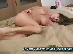 Isabella Super Big Chest Redhead Woman Masturbating