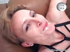 Hellacious hot big ass correct brunette MILF