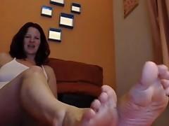 milf wrinkled soles