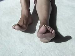 Connie Mature long toenails