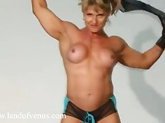 Female Muscle Milf Showing Off Her Ripped Physique
