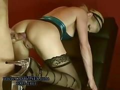 Hot german dating apropos fantastic amateur blonde milf