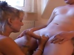 Blonde german MILF fisted and fucked