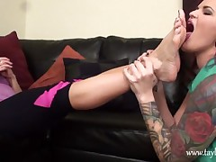 lesbian legs