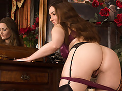 Pretty omnibus shows off her naughty friend