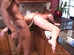 Peppery head milf loves her some black load of shit