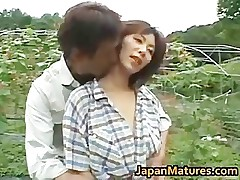 Chisato Shouda Asian mature doll gets part1
