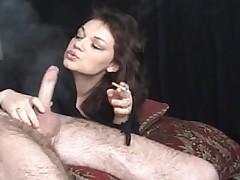 MILF Smokey BJ and cumshot