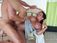 German Mother fucks 18yr ancient Step-Son 2 Times in SexTape