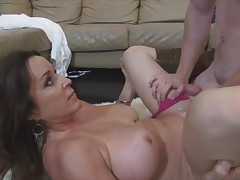 Mother's Attention Rachel Steele gets pounded - all over at hornymilfs69.com