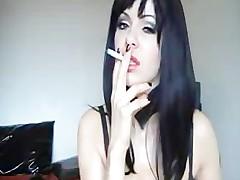 Sexy Cam Smoking milf